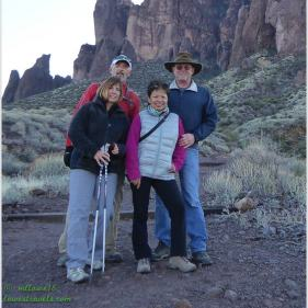 Curt and Glenda of Camp Lowry: That's How We Roll - Superstition Mountains, AZ