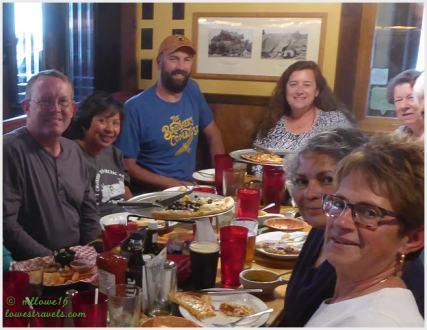 Tim and Amanda (at the back) of Watsons Wander - Moab, UT