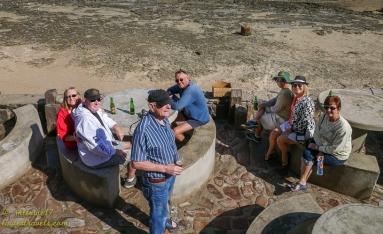 Drinks at La Cholla Bay