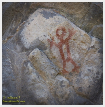 Petroglyph at the Trail of the Ancients