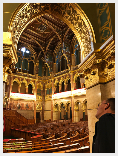 Parliament chamber