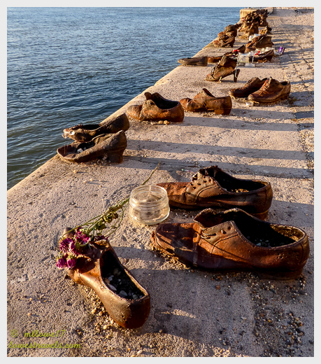 Shoes of the Danube River