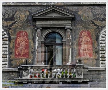 Original building facade