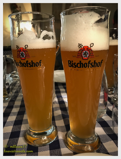Real German wheat beer