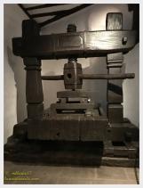 A 1767 wine press