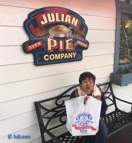 When in Julian you must get a pie!