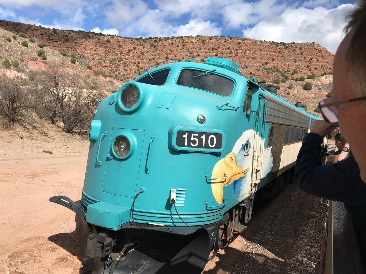 Engine 1510, Verde Canyon Railroad