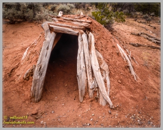 Sweat House - a small Navajo sauna
