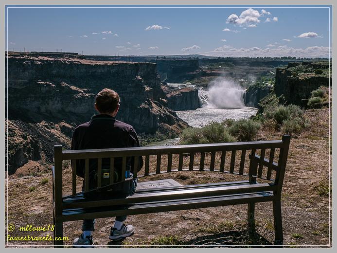 Shoshone waterfall