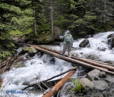 Lostine River crossing