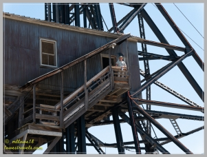 Hamming it up on the headframe