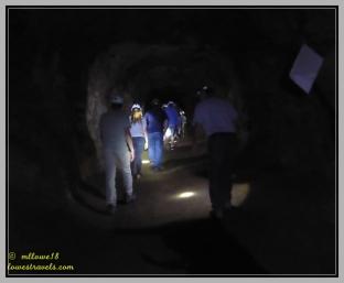 Going down 65' underground