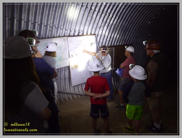Explaining the workings of a mine