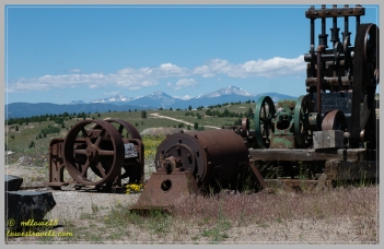 An amazing collection of mining equipment here
