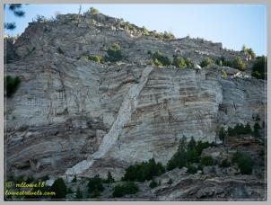 Granite dikes formed 75 million years ago