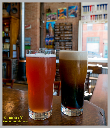 Razzu and an Oatmeal Stout on Nitro