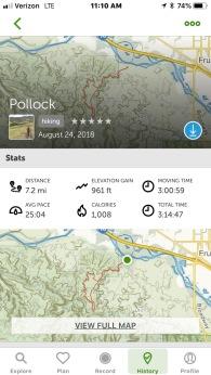 Pollock Bench Trail