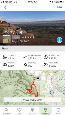 Liberty Cap/Corkscrew Loop Trail