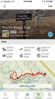 Mack's Ridge