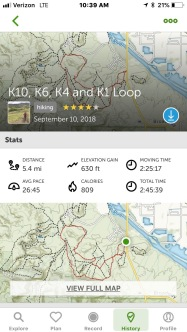 Kodel trail system
