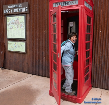 Cool phone booths at Market Plaza