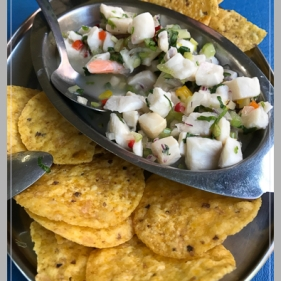 Excellent Costa Rican ceviche