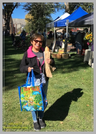 We will miss the farmers markets!