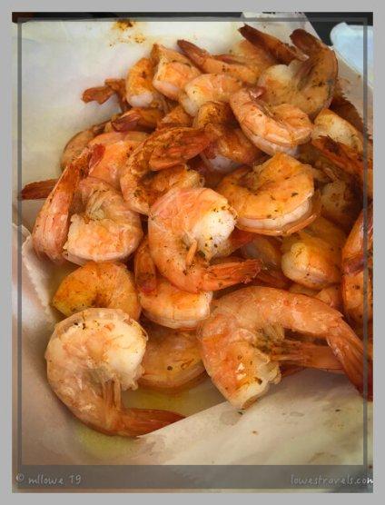 Tasty and sweet shrimp