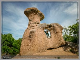 Weathered rock