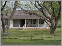 Reconstructed boyhood home