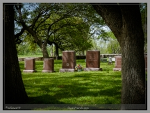 The Johnson family's resting place