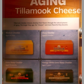 Tillamook has a second plant here, we've already visited the other one in the city of Tillamook