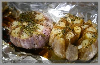Roasted Russian Garlic