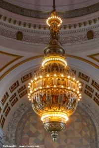 5-ton bronze Tiffany chandelier