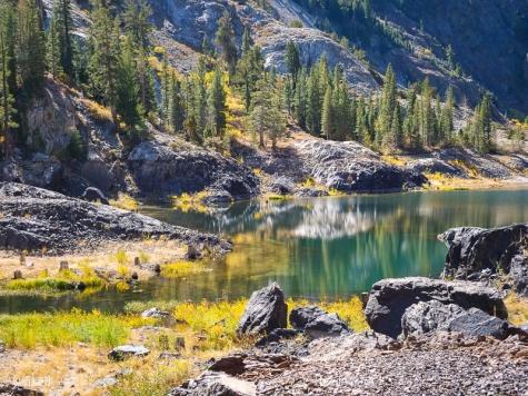 Agnew Lake at 8,508'