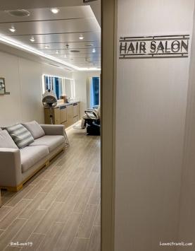 Yes, a hair salon