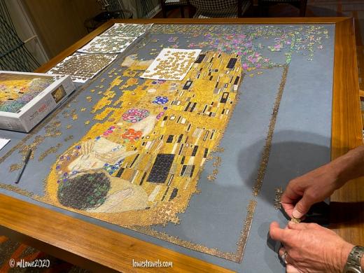 4,000 piece jigsaw puzzle