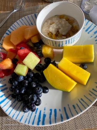 Mona Liza's breakfast